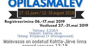 Kohtla-Järve Õpilasmalev 2019