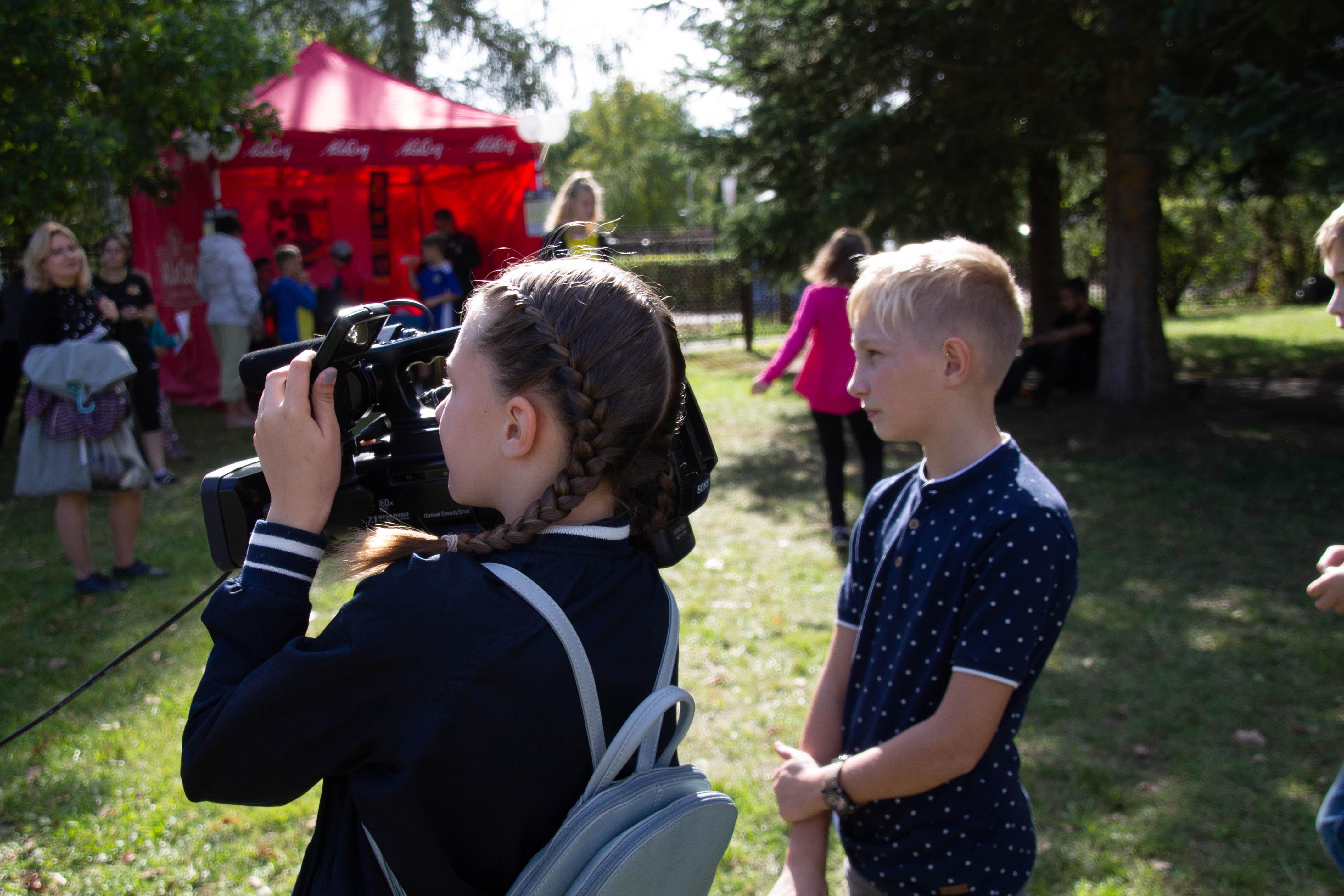 Репортаж с Молодёжного фестиваля от SDparty.net и студии «Первый кадр»