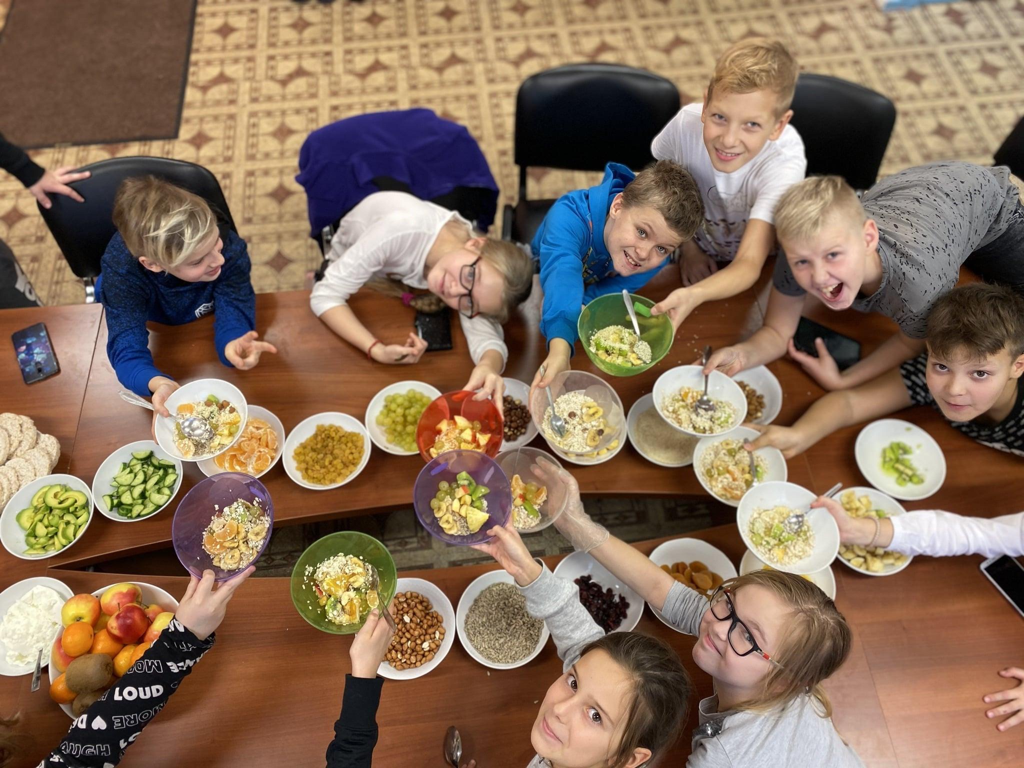 Проект «Tervislik toitumine on tänapäeva trend»