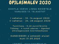 Kohtla-Järve Õpilasmalev 2020